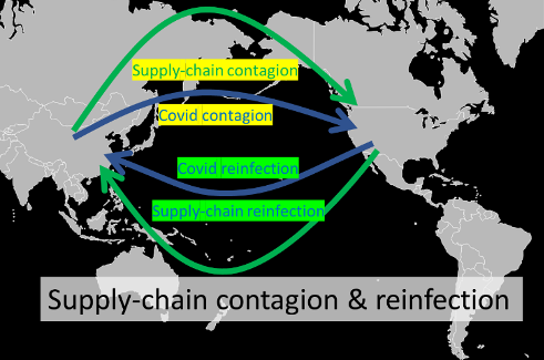 The COVID concussion and supply-chain contagion waves 5