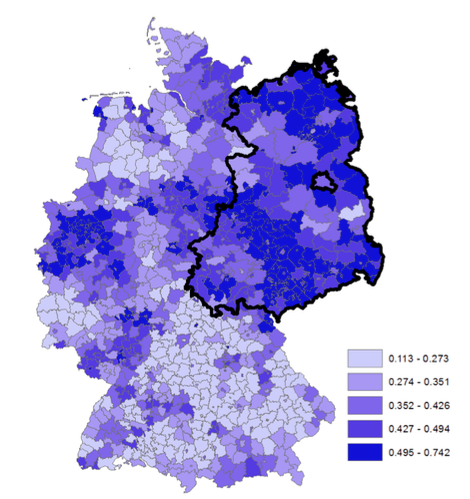 German division and reunification and the 'effects' of communism 1