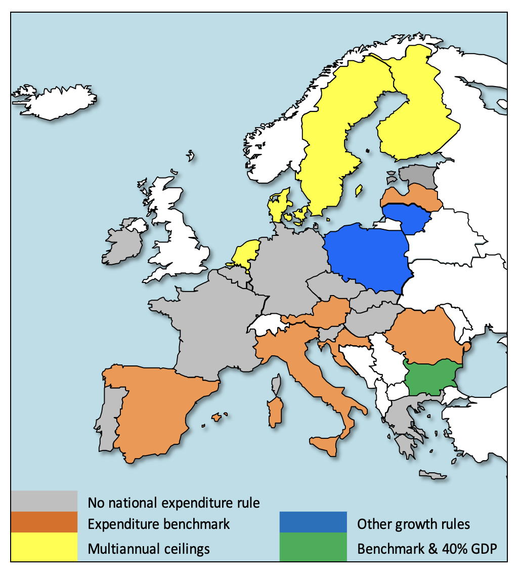 Effectiveness of national expenditure rules 2