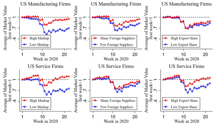 Global connectedness, market power, and firms resilience to domestic COVID-19 shocks 1