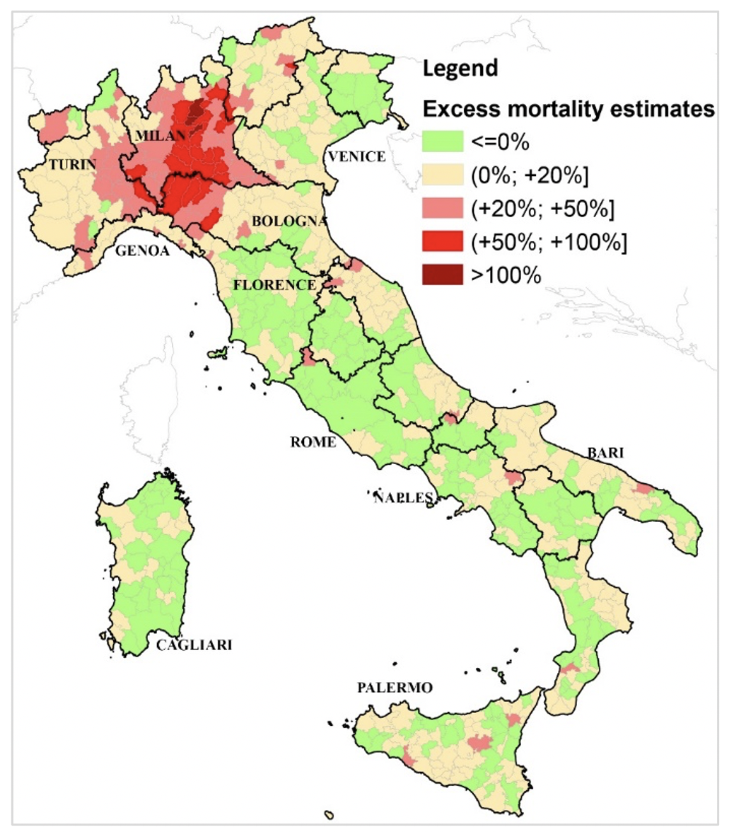 Local inequalities of the COVID-19 crisis 4