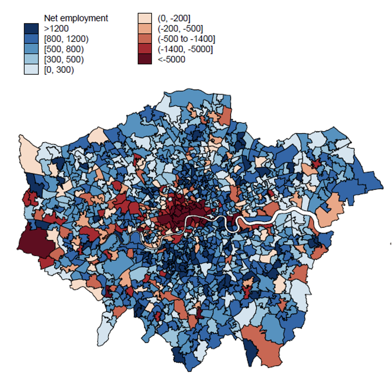 The geography of working from home and the implications for the service industry 1