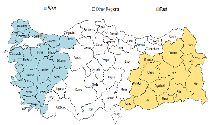 Regional inequalities and the West-East divide in Turkey since 1880 1