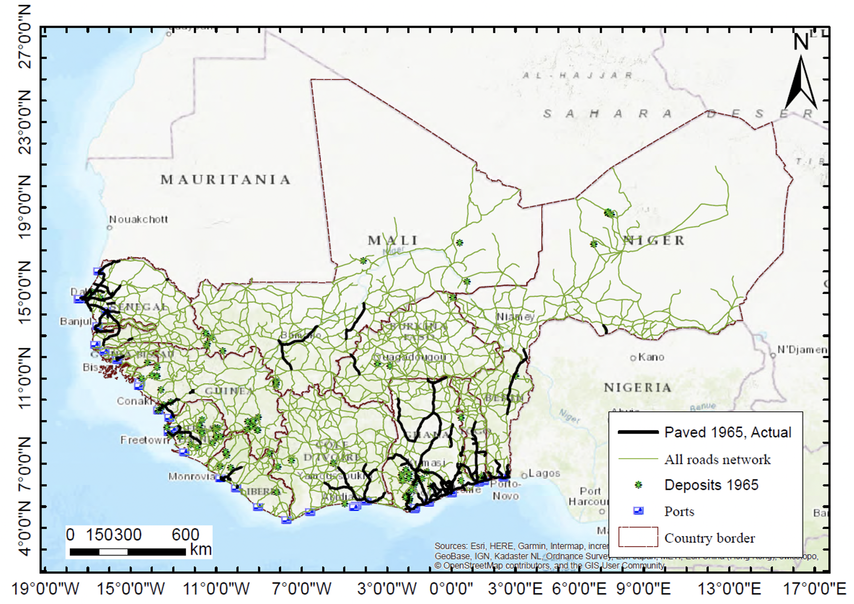 The political economy of Africa's interior-to-coast roads 2