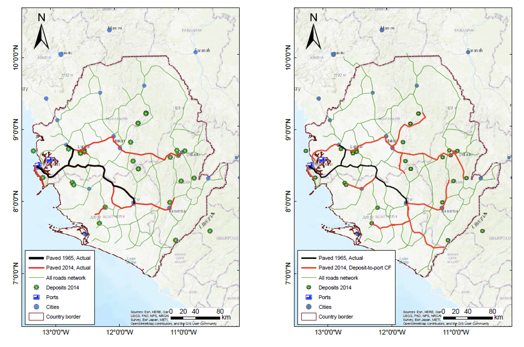 The political economy of Africa's interior-to-coast roads 4