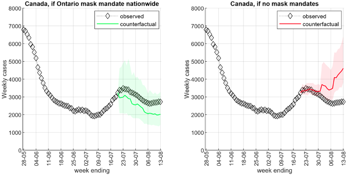 Face mask mandates slowed the spread of COVID-19 in Canada 5