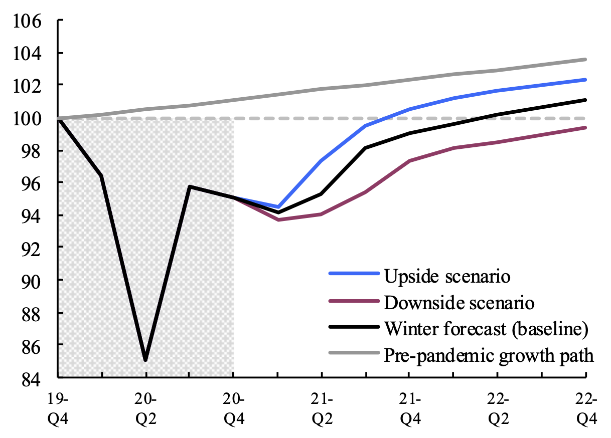 Key features of the European Commission's Winter 2021 interim forecast 5
